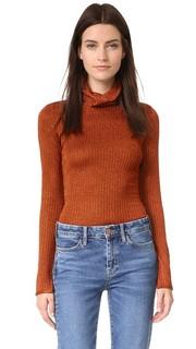 Облегающий свитер Billi с воротником под горло Alice + Olivia