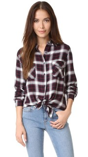 Рубашка в клетку Hardwood Garment с эффектом потертости BB Dakota