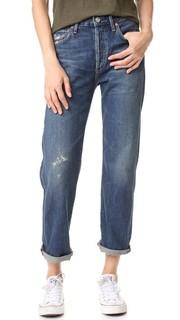 Свободные укороченные джинсы Cora с высокой посадкой Citizens of Humanity