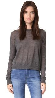 Потрепанный кашемировый свитер Helmut Lang