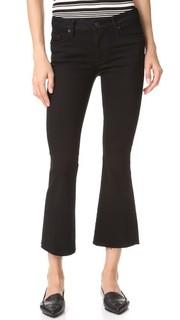 Укороченные расклешенные джинсы Mia Hudson