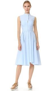 Платье без рукавов из хлопкового твила Jason Wu