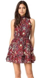 Платье с цветочным принтом Moon River