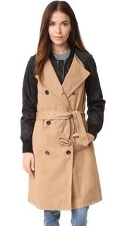 Пальто-тренч в стиле бомбера 3.1 Phillip Lim