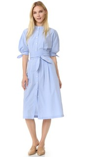 Платье-рубашка с завязками Sea