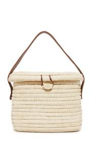 Соломенная плетеная сумка Sensi Studio