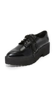 Ботинки на шнурках Bardem на платформе Jeffrey Campbell