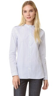 Рубашка Diana с оборками на воротнике Marie Marot