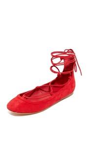 Jenessa Ankle Wrap Ballet Flats Joie