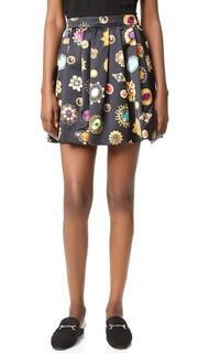 Принтованная юбка Moschino