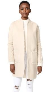 Двустороннее пальто из искусственного меха Eden Suncoo