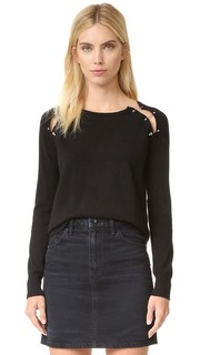 Clip Detail Pullover The Kooples
