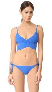 Timeless Basics Wrap Bikini Top Stella Mc Cartney