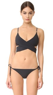 Timeless Basics Wrap Bikini Top Stella Mc Cartney