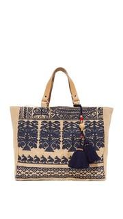 Объемная сумка с короткими ручками Savana Star Mela