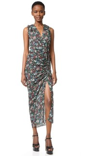 Платье Teagan со сборками сбоку Veronica Beard