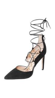 Туфли-лодочки на шнуровке Helaine Sam Edelman