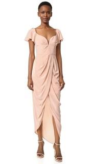Длинное воздушное шелковое платье Zimmermann