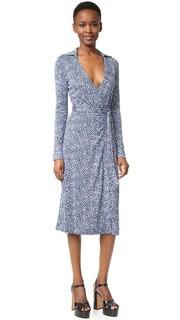 Платье-халат Cybil из шелка Diane von Furstenberg