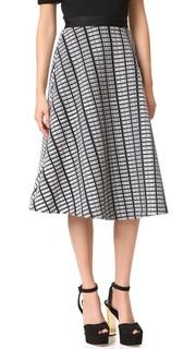 Широкая юбка Lela Rose