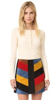 Пуловер с передней застежкой See by Chloe