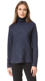 Пуловер с воротником под горло Lela Rose