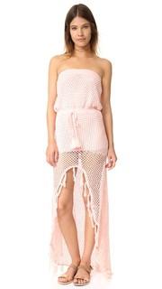Связанное крючком платье Woven Together Minkpink