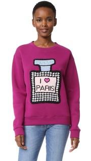 Толстовка с надписью «I Love Paris» Michaela Buerger