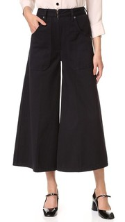 Джинсы-юбка с накладным карманом Marc Jacobs