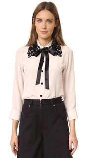 Рубашка на пуговицах спереди Marc Jacobs