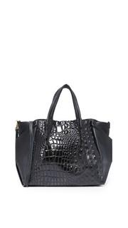 Объемная сумка Hornback Zoe с короткими ручками Oliveve