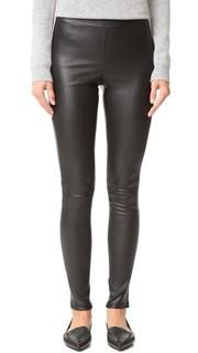 Кожаные брюки Adbelle Theory