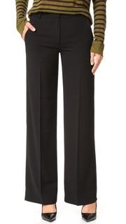 Широкие брюки из крепа T by Alexander Wang