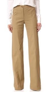 Практичные широкие брюки Wanderlust Veronica Beard