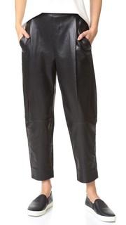 Кожаные брюки Vince
