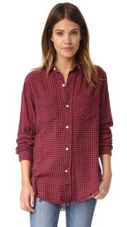 Рубашка Prep School с двумя карманами Current/Elliott