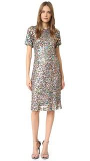 Платье с блестками Rodarte
