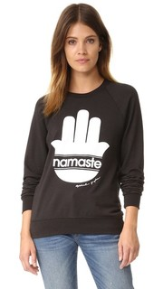 Толстовка с полосками Namaste Spiritual Gangster