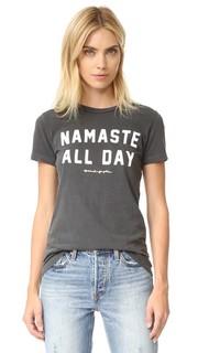 Концертная футболка Namaste All Day Spiritual Gangster