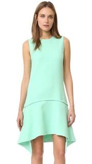 Платье с драпированной юбкой Victoria Victoria Beckham