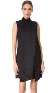Платье с двойной складкой Victoria Victoria Beckham