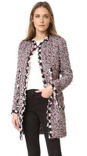 Пальто из твида Giambattista Valli