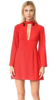 Платье с глубоким V-образным вырезом Jill Jill Stuart