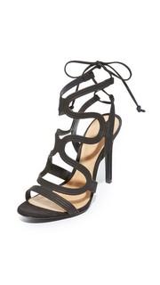 Сандалии со шнурками на щиколотке Schutz