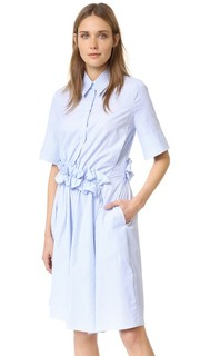Платье-рубашка с оборками на талии Victoria Victoria Beckham