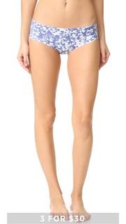 Невидимые трусики с низкой талией и принтом Calvin Klein Underwear