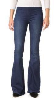 Расклешенные джинсы без застежки Gummy Penny Free People