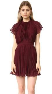 Плиссированное мини-платье Come Back Keepsake