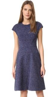Платье с короткими рукавами Blair Lela Rose