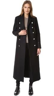 Длинное пальто Versus